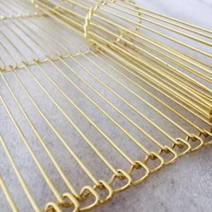 Cheap PriceList for Mesh Metal Curtain – XY-AH3 Copper Metal Mesh Curtain for Room Partition – Shuolong