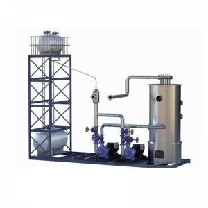 SKID mounted thermal oil boiler