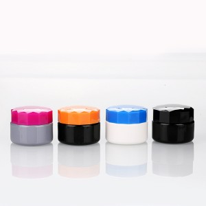 3g 5g cosmetic cream jar gel polish bottle cheap plastic container