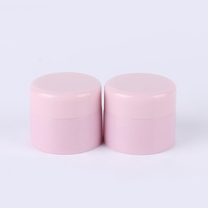 Factory Supply Small Jar - 10g 15g Pink Custom Cosmetic Lotion Container Round Makeup Jar with Screw Caps  – Sich
