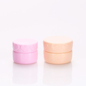 factory low price Small Containers With Lids For Cosmetics - 5g 8g Pink Cosmetic Jars Popular Lip Balm Container Nail Gel Bottle – Sich