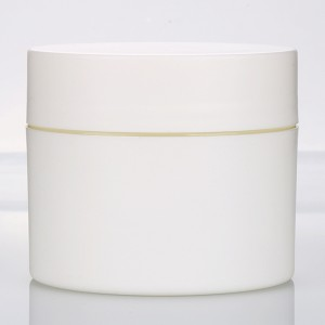 Online Exporter Large Acrylic Containers - 150g 200g round cream jar matte white cosmetic bottle recycled jar  – Sich