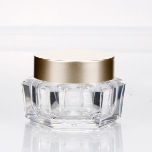 50g clear loose powder packaging recycled plastic bottles unique cosmetic jars for glitter