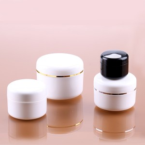 5g 15g 30g 50g Multi Size Cosmetic Containers Moisturers Jars With Beautiful Ring