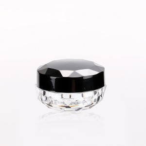 Wholesale Dealers of Loose Face Powder Container - 3g 5g Clear Nail Loose Powder Container Customized Eyeshadow Jar With Special Cover  – Sich
