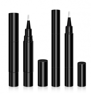 China wholesale Cosmetic pens – 2.5ml 4ml High Quality Black Custom Empty Lip Gloss Pen Makeup Pencil – Sich