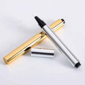 China wholesale Cosmetic pens – 2.5ml 4ml UV Coat Concealer Pen Highlight Brush Empty Lip Gloss Stick  – Sich