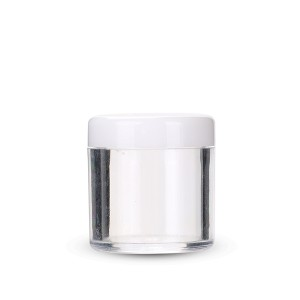 Best Price on 50ml Cosmetic Jars - 10g clear powder cosmetic jars jar cream plastic cosmetic  – Sich