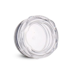 Lowest Price for Acrylic Jars With Lids - 10g clear powder cosmetic jars empty powder uv gel pot  – Sich