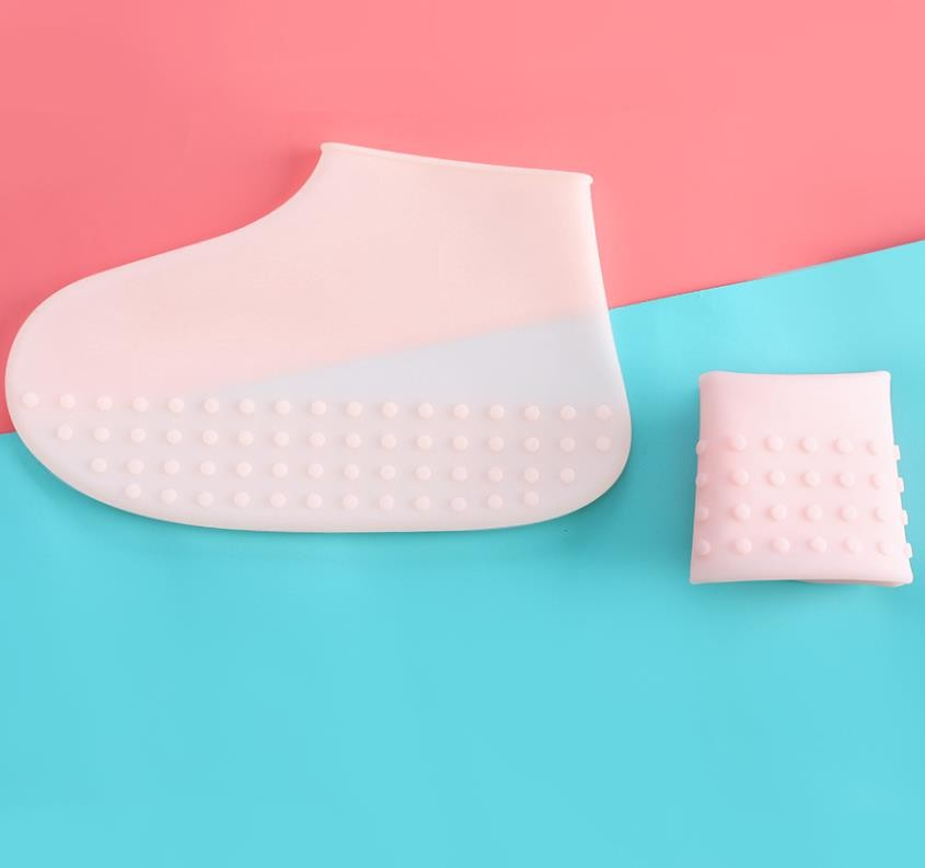 Fashion Design Silicone Shoe Protectors For Rainy Days With 3 Different Sizes