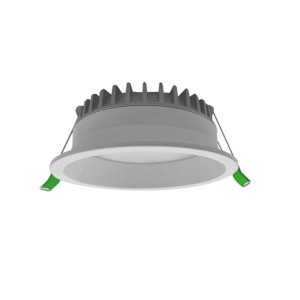 Recessed 110mm Cut-out 12 watt LED Downlight with Selectable Colour Temperature