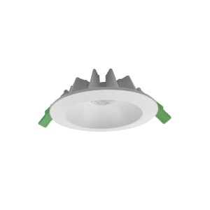 95mm Cut-out Die-casting Aluminum Commercial Deep Recessed IP44 15W COB LED Downlight