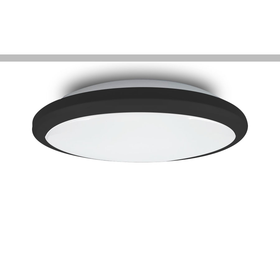Factory source Lighting Tracks For Ceiling - 20-50W IP54 LED Oyster with 3-CCT Function  – Simons
