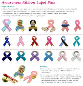 Awareness Pins