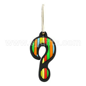 Soft PVC Zipper Pulls