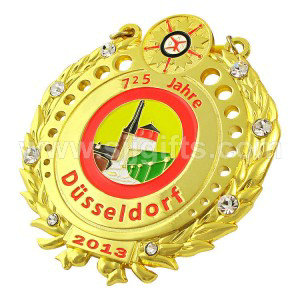 Popular Design for Cartoon Badges - Medals with Rhinestones – Sjj