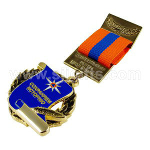 Medals with Short Ribbon Drape
