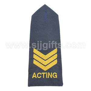High definition Custom Embroidered Badges - Epaulettes – Sjj