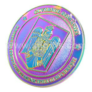 Factory Supply Enamal Pin - Rainbow Plating Pins – Sjj