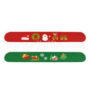 Christmas Slap Wristbands