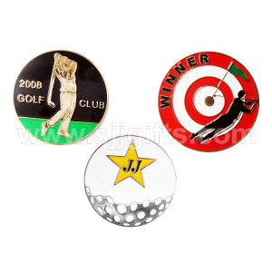 8 Year Exporter Leather Keychain - Golf ball marker – Sjj