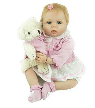 Reliable Supplier Reborn Doll Companies - ZIYIUI 22 Reborn Baby Girl Doll Newborn Baby Dolls Realistic Silicone Vinly Babys Doll Birthday Gifts  – Geshuo