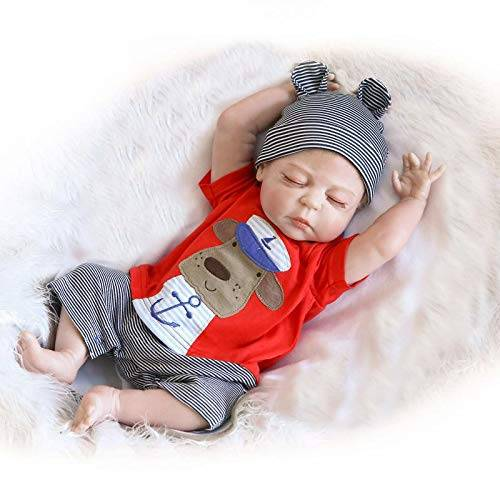 Real Life Silicone Babies - Kids Boy Body Alive Dolls Reborn Baby – Geshuo