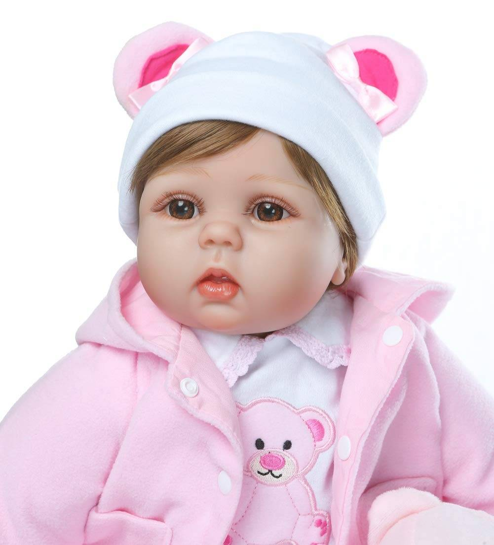Factory wholesale Lifelike Baby Dolls Reborn - Reborn Baby Dolls Girl Cute – Geshuo