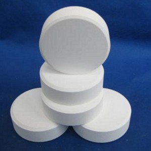 Professional Design Chlorine Tablets For Aerobic System - TCCA/TRICHLOROISOCYANURIC ACID/CHLORINE TABLET – CHEM-PHARM