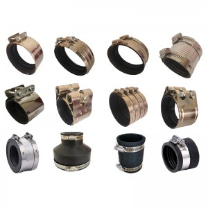 Stainless Steel Couplings with Rubber Gaskets