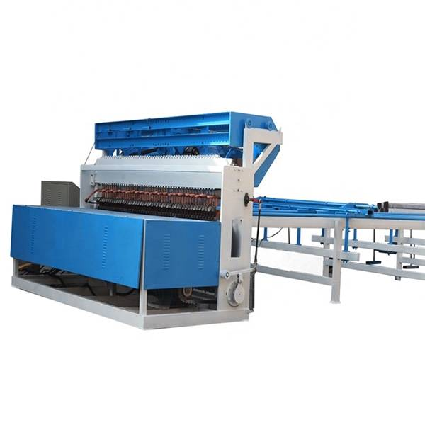 Fast delivery Poultry Cages Wire Mesh Machine - 3D metal wire mesh fence panel welding machine – Tefeng Featured Image
