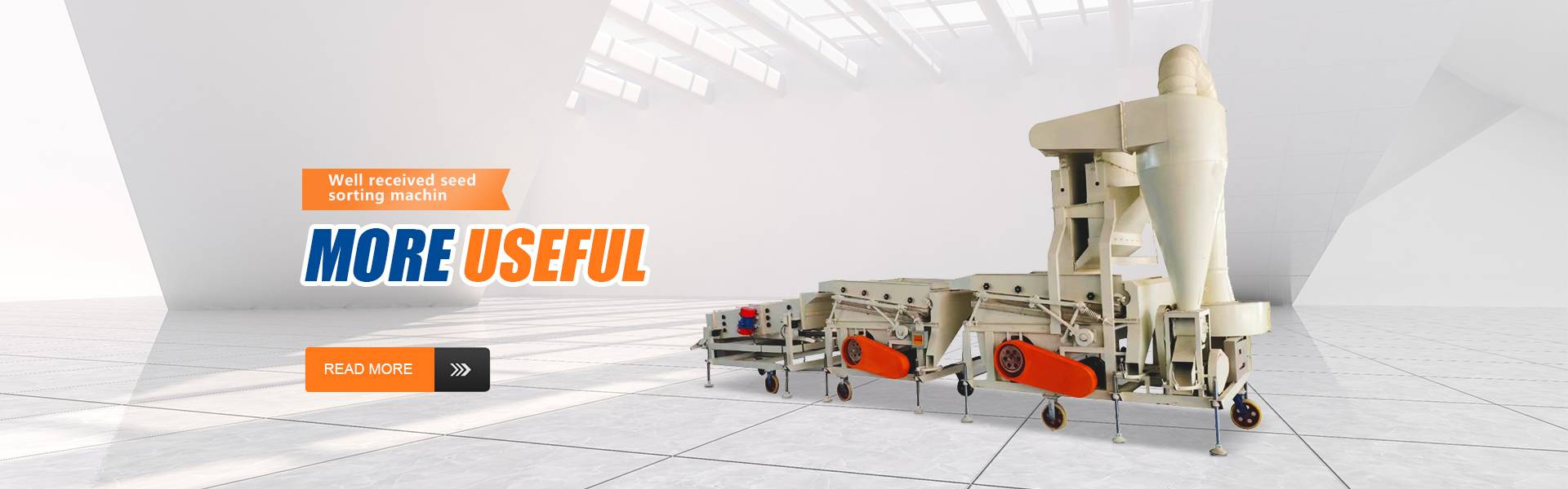 Combined type seed cleaner series