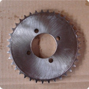 Factory wholesale Strongest Motorcycle Chain - Q235 Steel Motorcycle Chain Sprocket with Best Price – Shuangkun