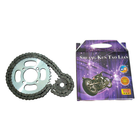 Motorcycle Roller Chain and Sprocket
