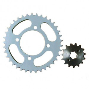 Different Market Motorcycle Rear and Front Sprocket