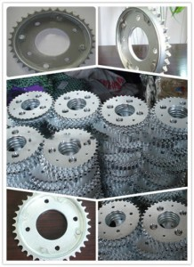 Hot New Products Motorcycle Chain Set - BIZ100 Motorcycle Chain Sprocket 35T – Shuangkun