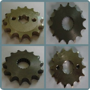 Factory wholesale Motorcycle Chain Kit - Q235 Motorcycle Front Sprocket – Shuangkun