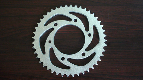 1045 and 1023 Heat Treatment Motorcycle Sprocket