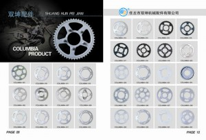 Cheapest Price Titanium Motorcycle Sprockets - Motorcycle Sprocket – Shuangkun