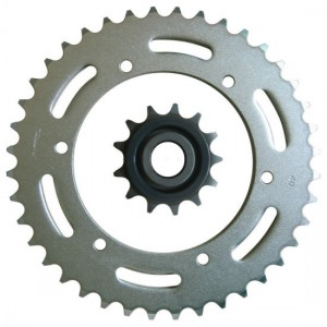 Reasonable price Classic Motorcycle Chains - 1045 Steel Excellent Quality Motorcycle Sprocket – Shuangkun