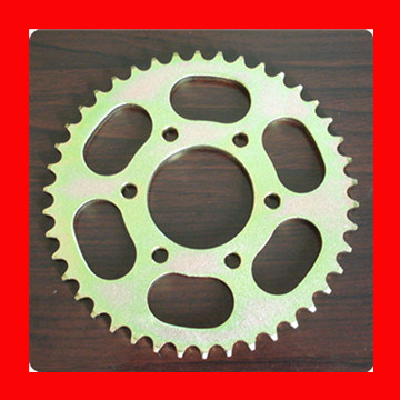 1045 Steel Excellent Quality Motorcycle Roller Chain Sprocket