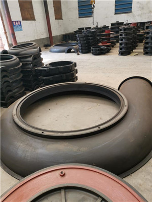 Pump Rubber Front Liner Wear Parts