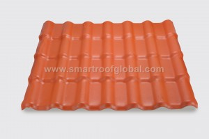 Pvc Resin Roofing Sheet