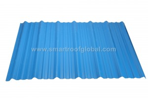 China Manufacturer for Spanish Roof Sheet - Pvc Corrugated Sheet – Smartroof
