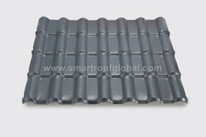 Pvc Resin Roofing Tile