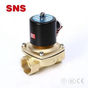 SNS 2W series control element direct-acting type brass solenoid water valve