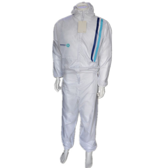 High Quality 210t Nylon Taffeta Quilted Polyester Hi Vis Coverall