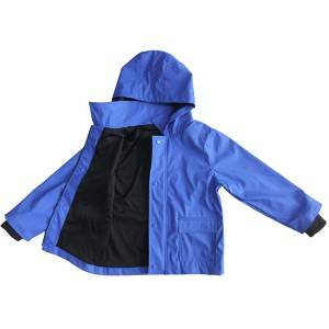 Factory directly supply Swedish Military Jacket - Rain Jacket For Kids – Hantex