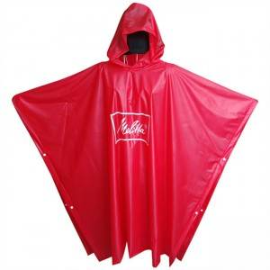 China OEM Long Waterproof Coat - PVC Rain Poncho—100% Waterproof – Hantex