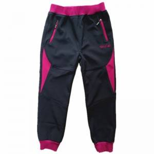 Child Outdoor Waterproof Kids Trousers Boy Girl Fleece lined Pants softshell Sport Pants Ski Pants For Children